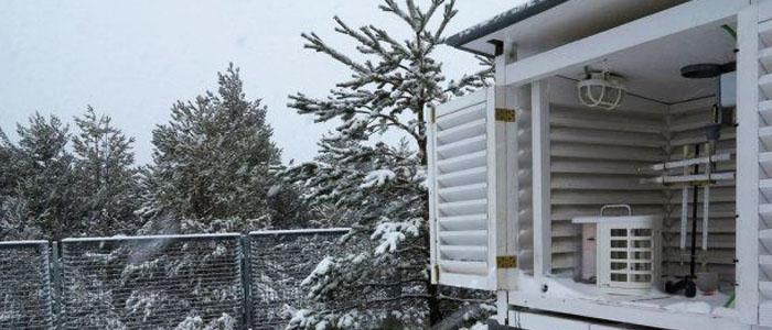 El clima en Las Rozas nevando en invierno y la reparacion de calderas