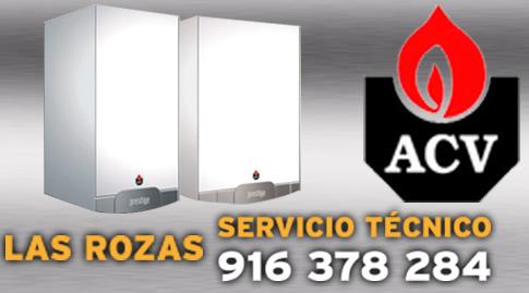 Reparacion de calderas ACV en Las Rozas.