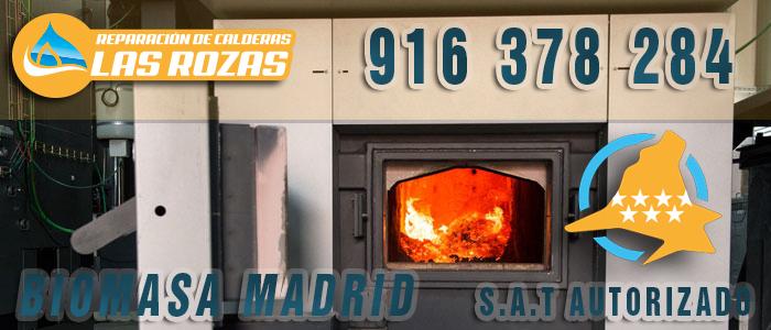Calderas de biomasa para edificios en la Universidad Camilo José Cela de Madrid