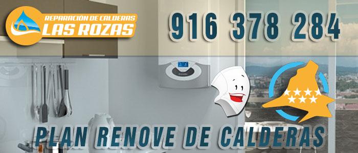 Cambiar la caldera de casa más barato con el Plan Renove de calderas en Las Rozas de Madrid
