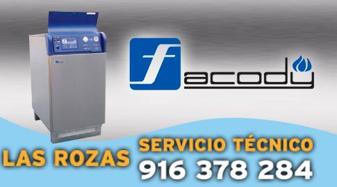 Reparacion de calderas Facody en Las Rozas.