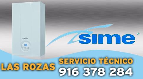 Reparacion de calderas Sime en Las Rozas.