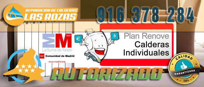 Plan Renove de Calderas 2015 en Las Rozas de Madrid