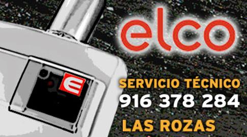 Servicio tecnico Elco en Las Rozas de Madrid
