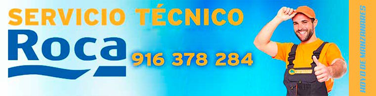 servicio tecnico Roca Hoyo de Manzanares.