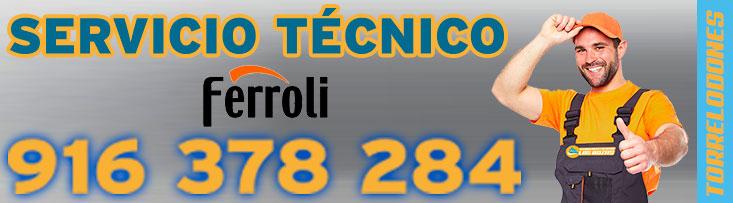 servicio tecnico Ferroli Torrelodones.