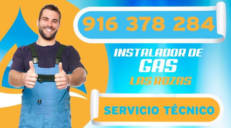INSTALADOR DE GAS AUTORIZADO LAS ROZAS DE MADRID