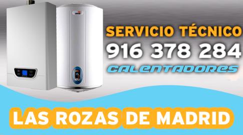 Servicio tecnico calentadores Las Rozas de Madrid