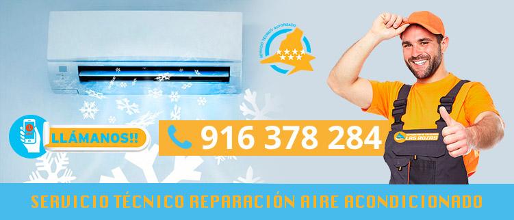 reparación aire acondicionado en Las Rozas de Madrid