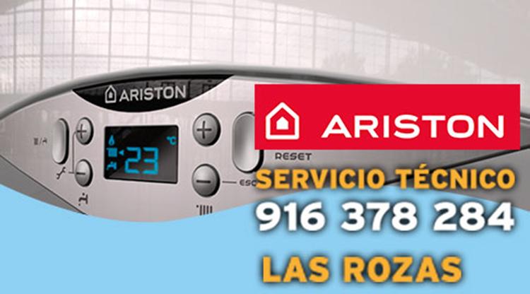 servicio técnico calderas Ariston en Las Rozas de Madrid.