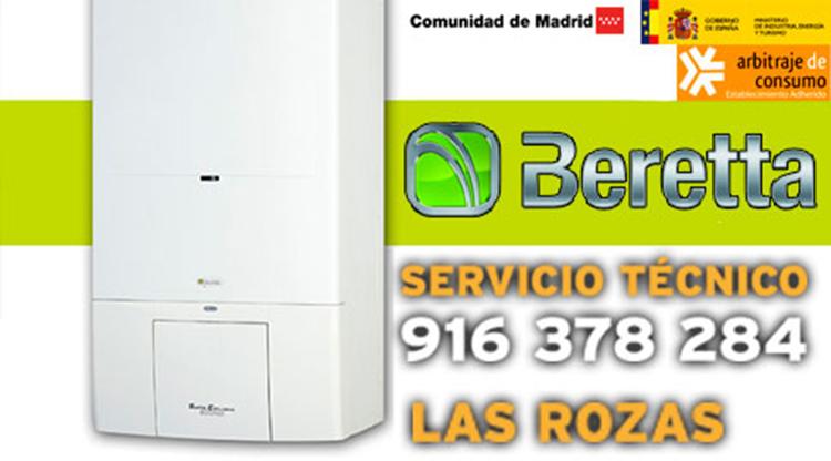 Servicio Técnico Calderas Beretta en Las Rozas de Madrid