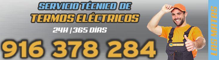 servicio tecnico de termos eléctricos en Las Rozas
