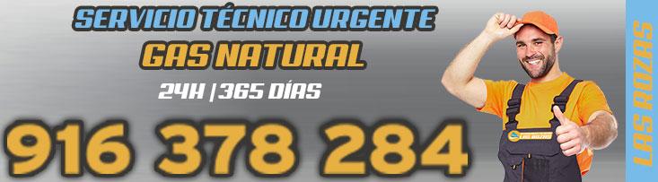 SERVICIO TÉCNICO URGENTE GAS NATURAL EN LAS ROZAS DE MADRID