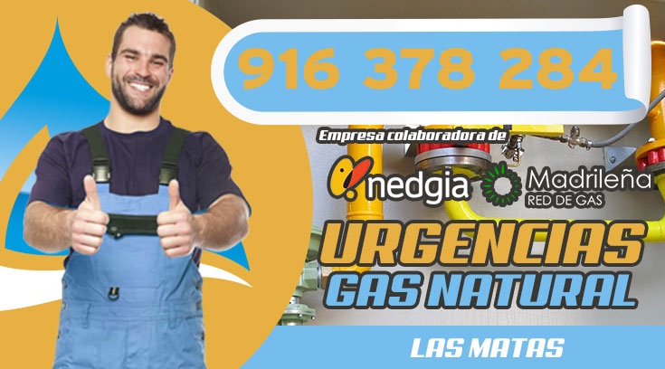 URGENCIAS DE GAS NATURAL EN LAS MATAS