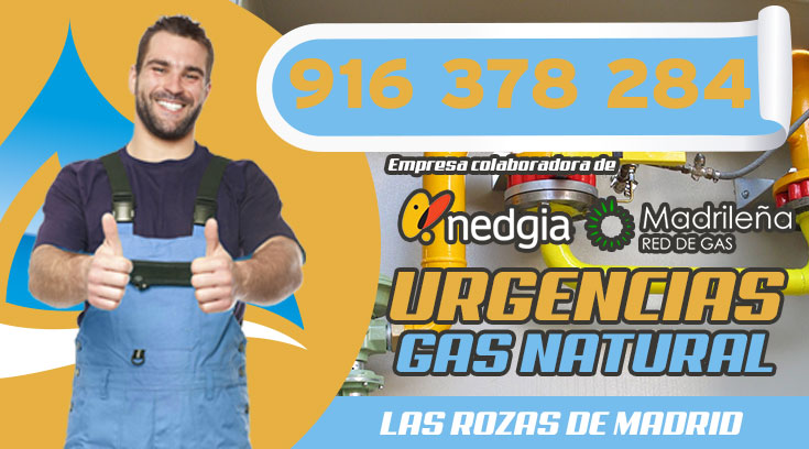 URGENCIAS DE GAS NATURAL EN LAS ROZAS DE MADRID