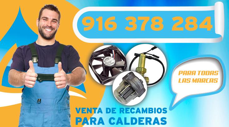 venta de recambios para calderas en Las Rozas.