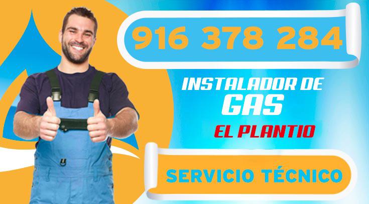 INSTALADOR DE GAS AUTORIZADO EN EL PLANTÍO
