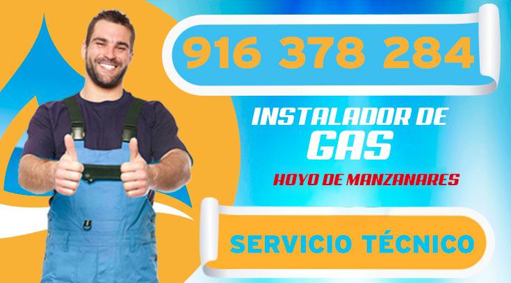 INSTALADOR DE GAS AUTORIZADO EN HOYO DE MANZANARES